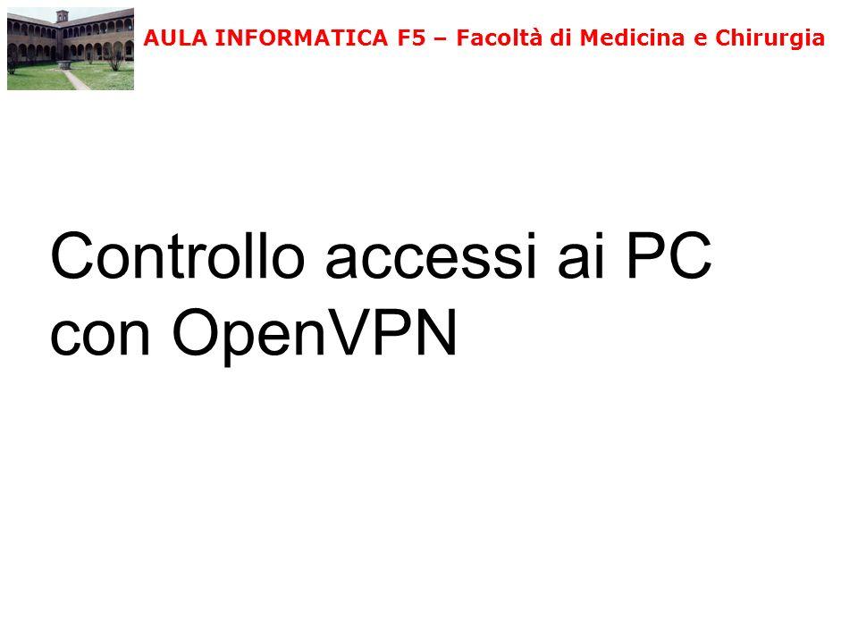 Controllo accessi ai PC con OpenVPN