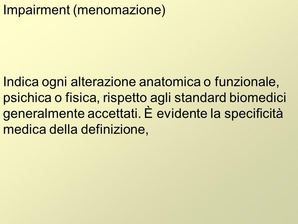 Impairment (menomazione)
