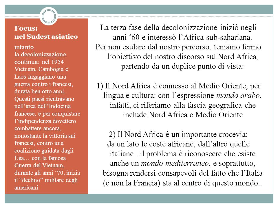 Focus: nel Sudest asiatico