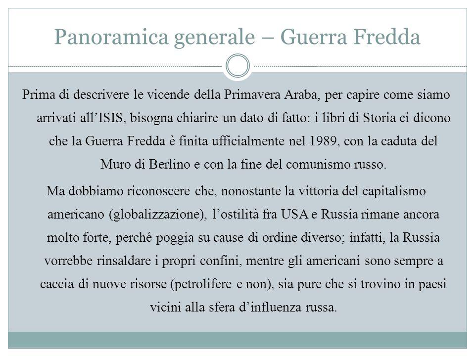 Panoramica generale – Guerra Fredda