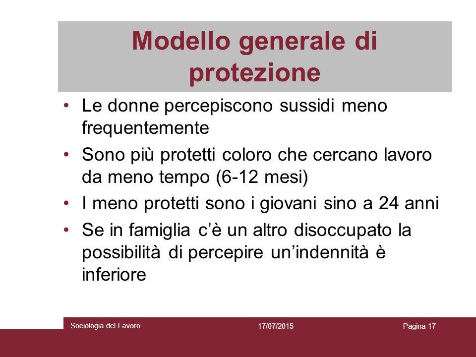 Modello generale di protezione