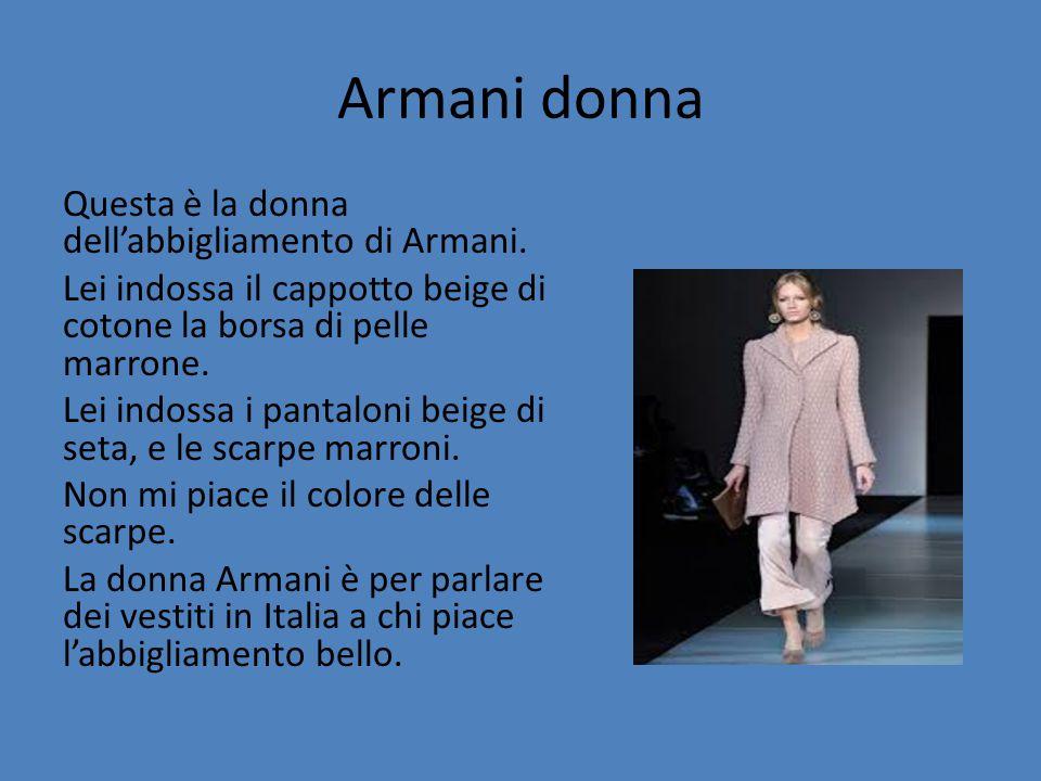 Armani donna
