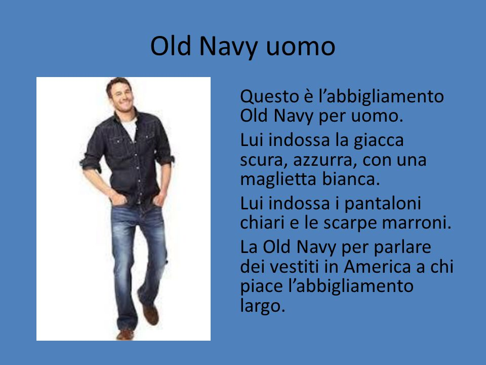 Old Navy uomo