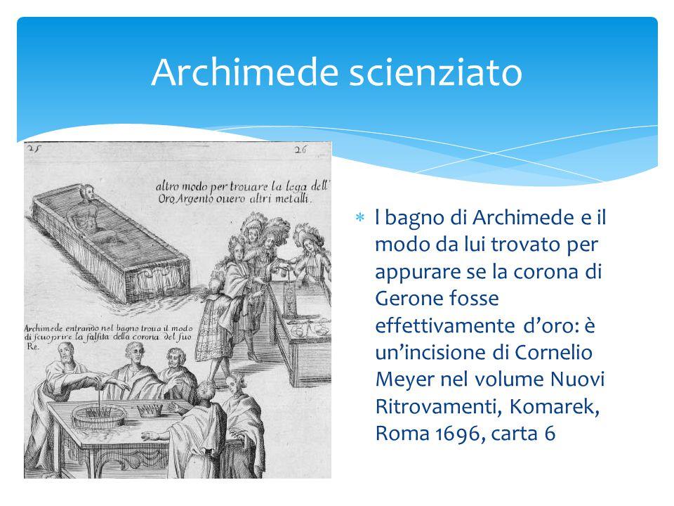 Archimede scienziato