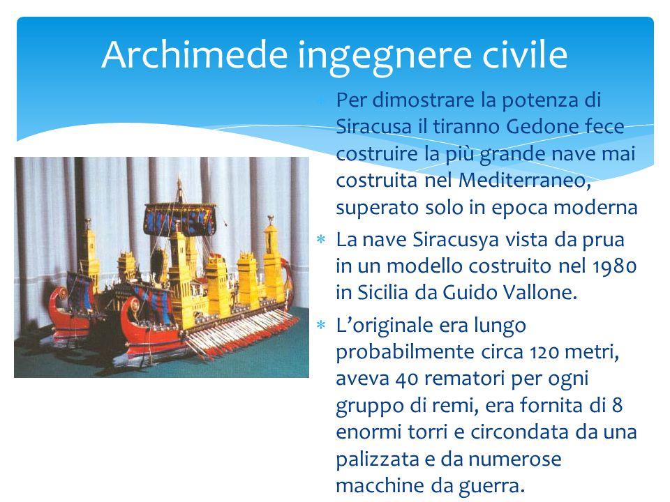 Archimede ingegnere civile