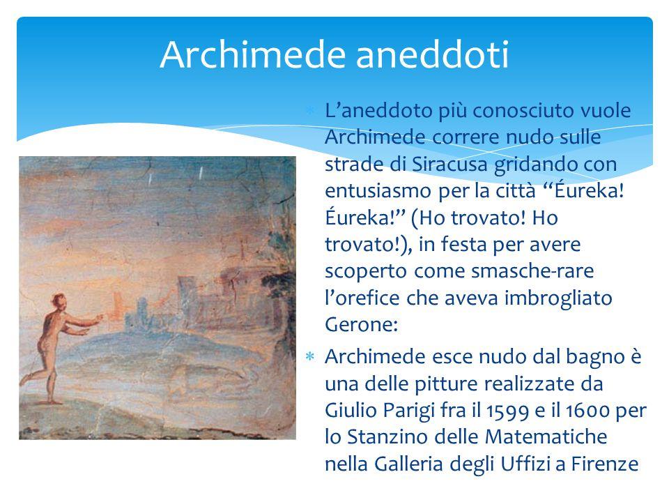 Archimede aneddoti