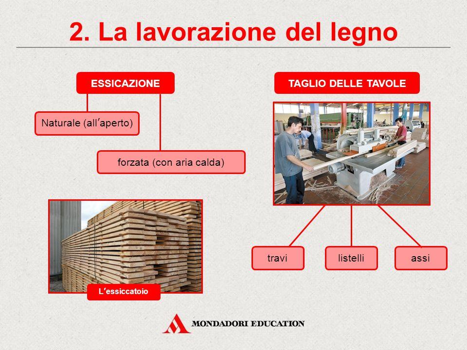 2. La lavorazione del legno
