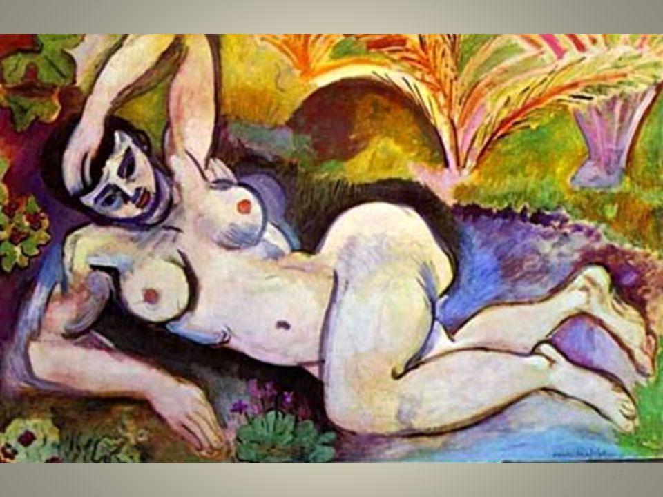 Matisse nudo blu