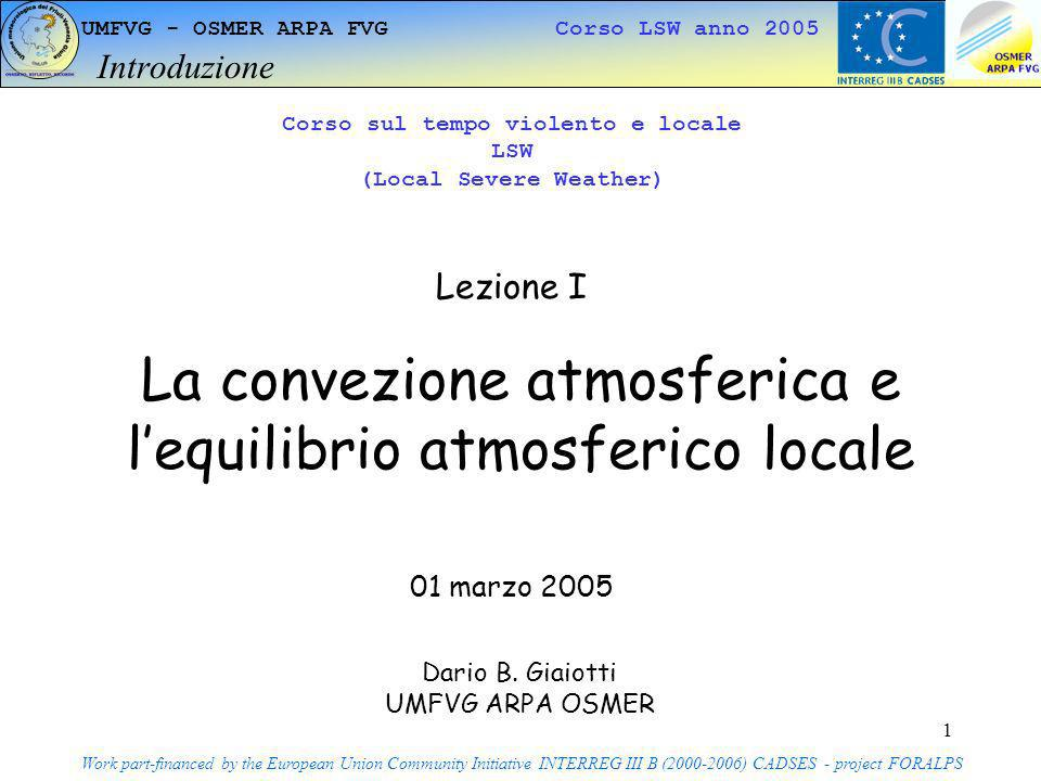 Corso sul tempo violento e locale (Local Severe Weather)