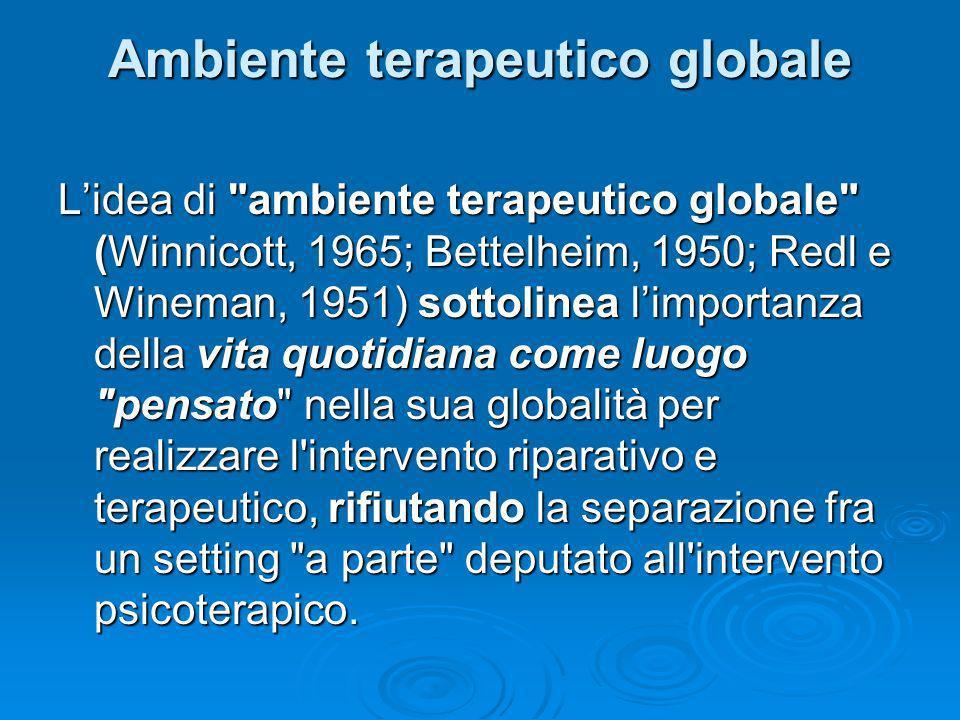 Ambiente terapeutico globale