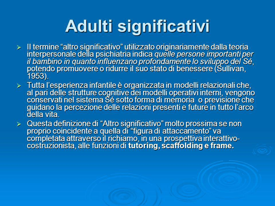 Adulti significativi
