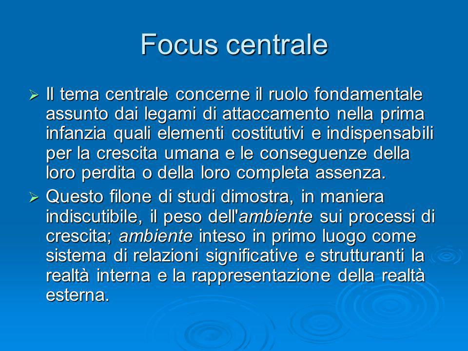 Focus centrale