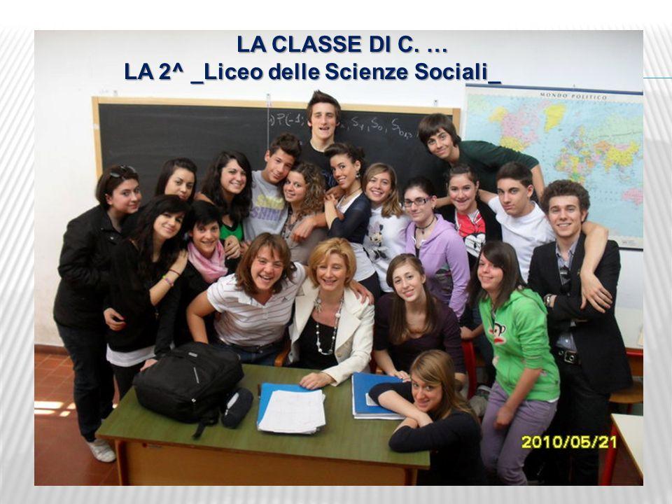 LA 2^ _Liceo delle Scienze Sociali_