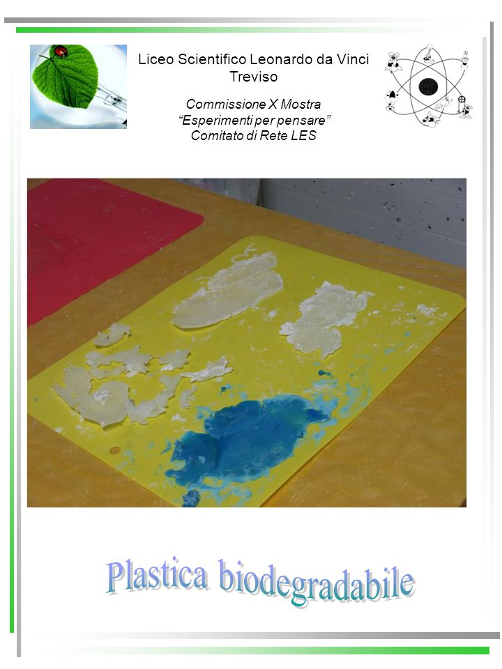 Plastica biodegradabile
