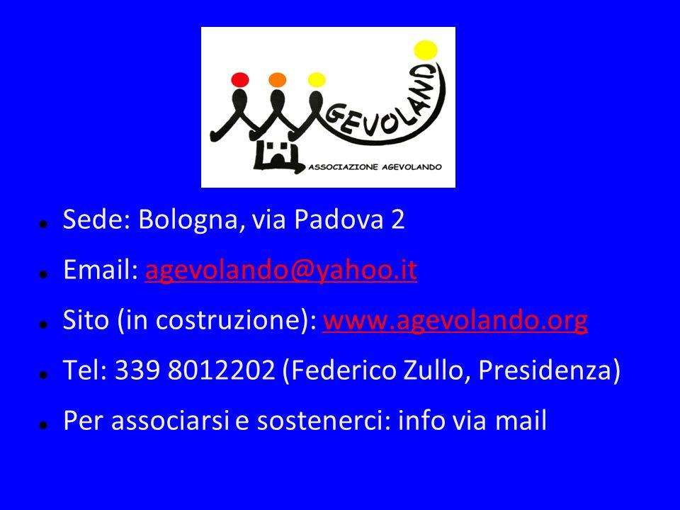 Sede: Bologna, via Padova 2