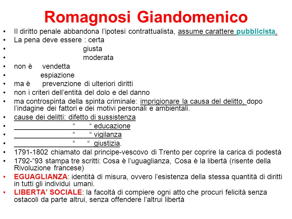 Romagnosi Giandomenico