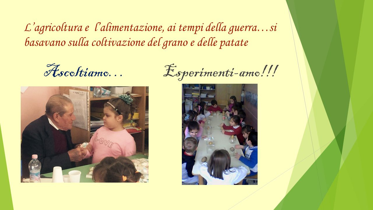 Ascoltiamo… Esperimenti-amo!!!