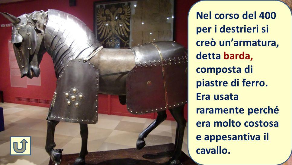 Destriero = cavallo da battaglia