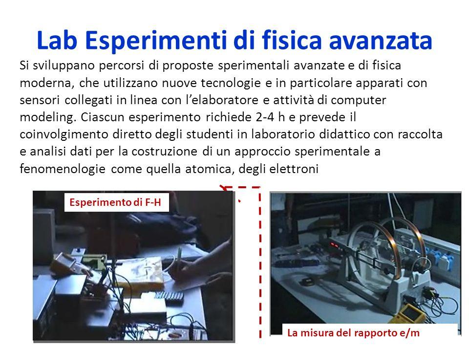 Lab Esperimenti di fisica avanzata