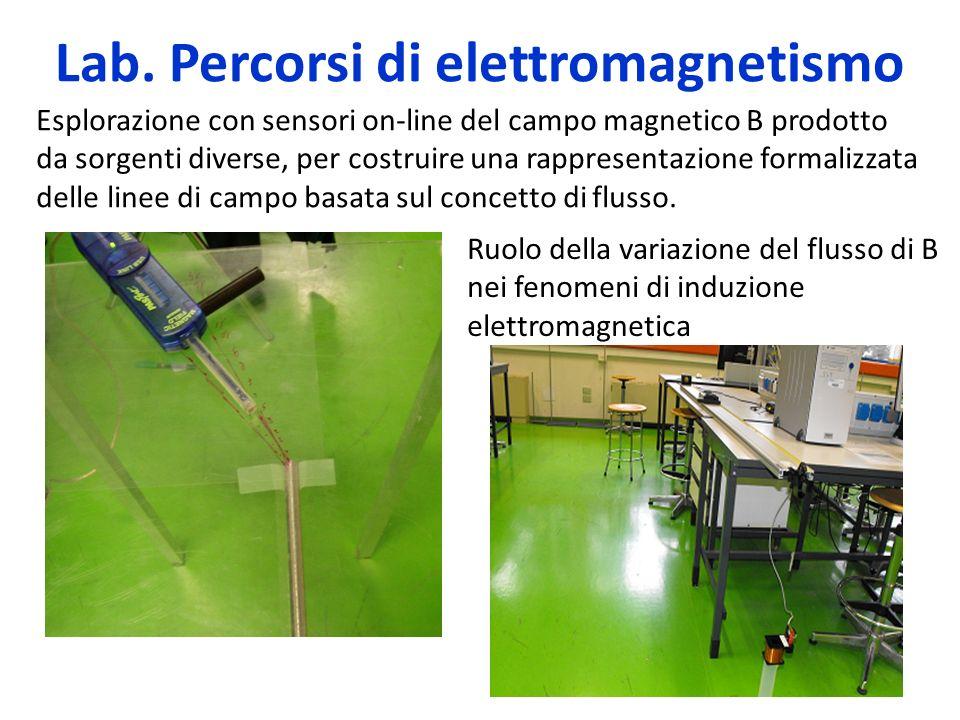 Lab. Percorsi di elettromagnetismo