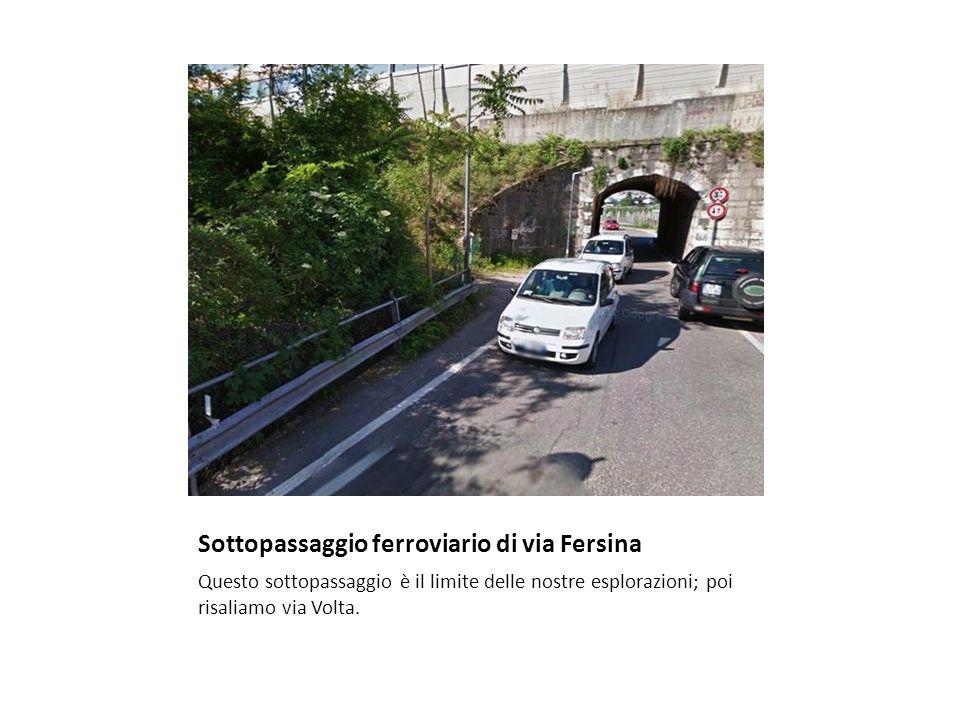 Sottopassaggio ferroviario di via Fersina