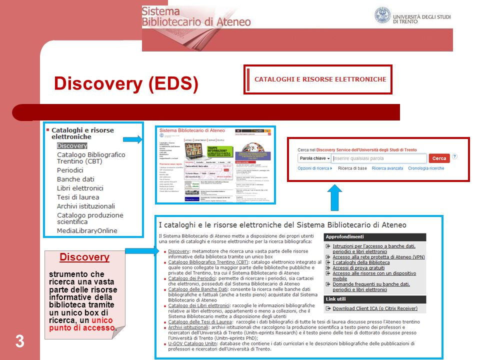 Discovery (EDS) Discovery