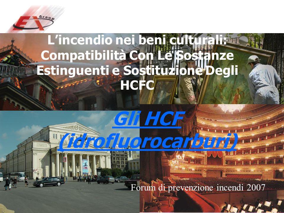 Gli HCF (idrofluorocarburi)