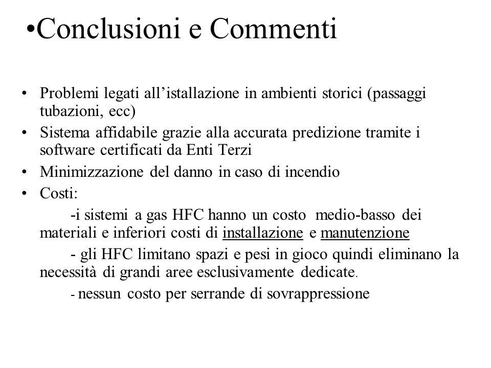 Conclusioni e Commenti