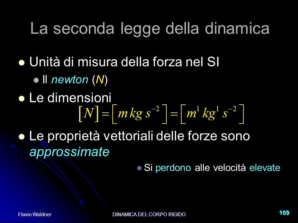 La seconda legge della dinamica