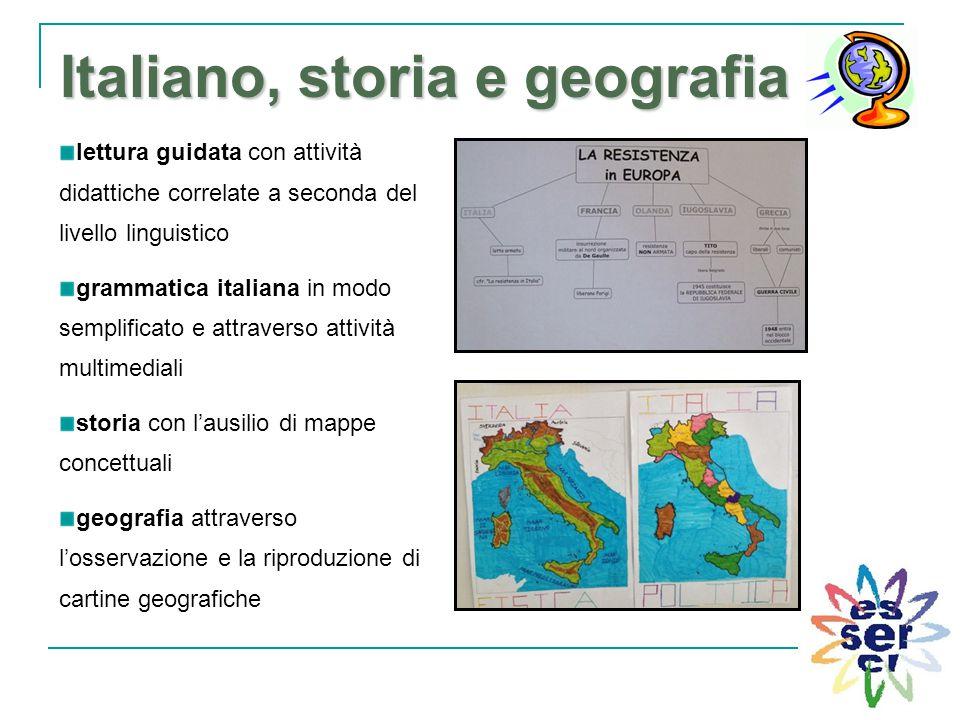 Italiano, storia e geografia