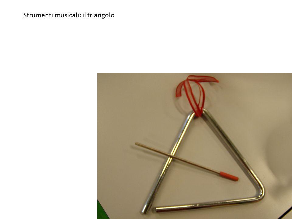 Strumenti musicali: il triangolo