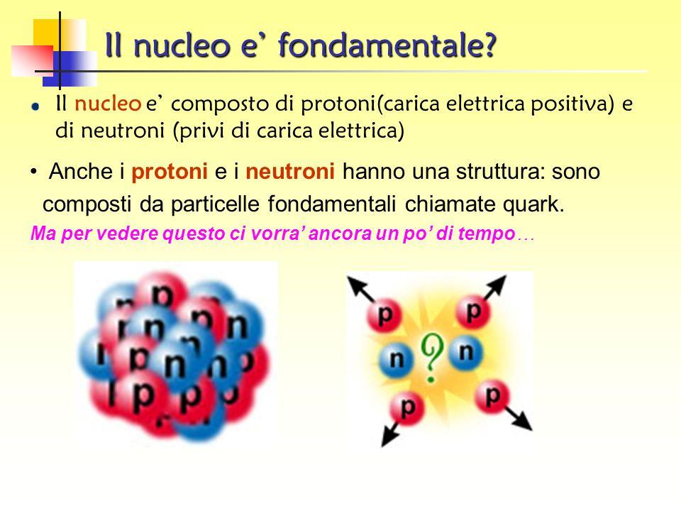Il nucleo e' fondamentale