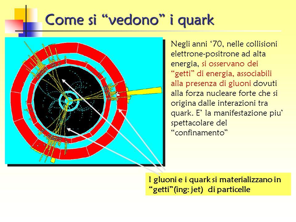 Come si vedono i quark
