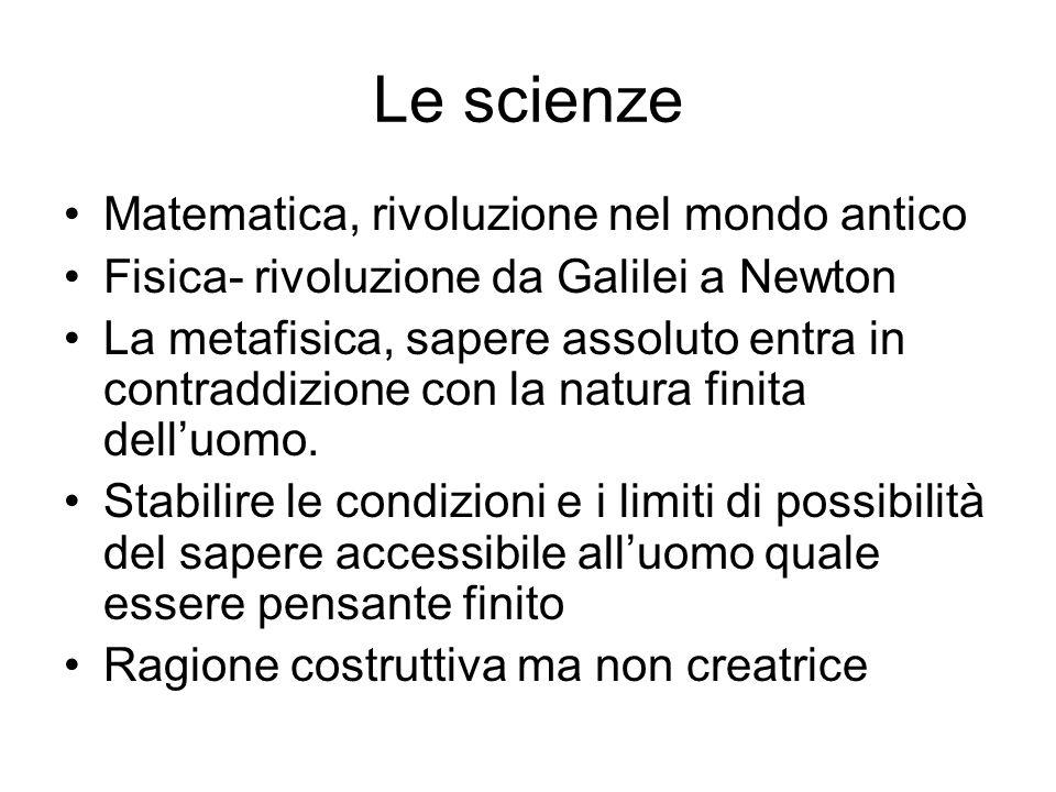 Le scienze Matematica, rivoluzione nel mondo antico
