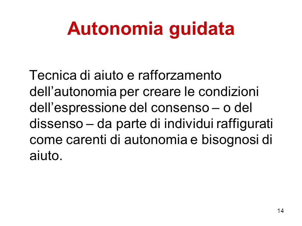 Autonomia guidata