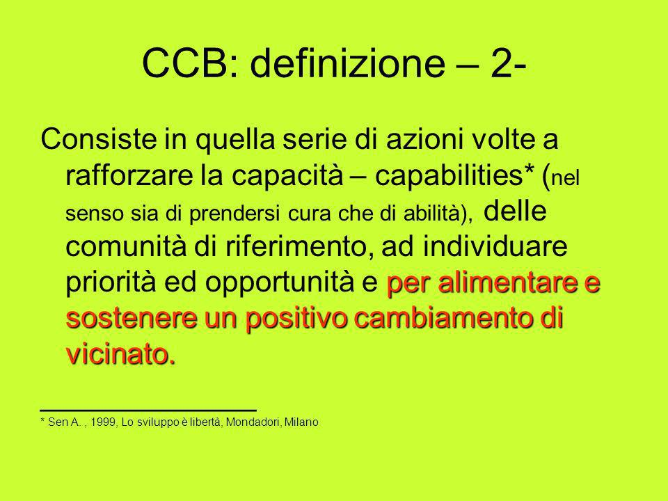 CCB: definizione – 2-