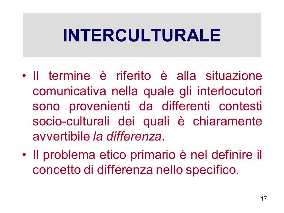 INTERCULTURALE