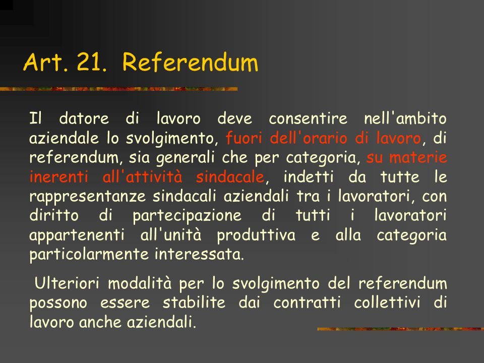Art. 21. Referendum