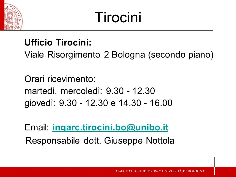 Tirocini