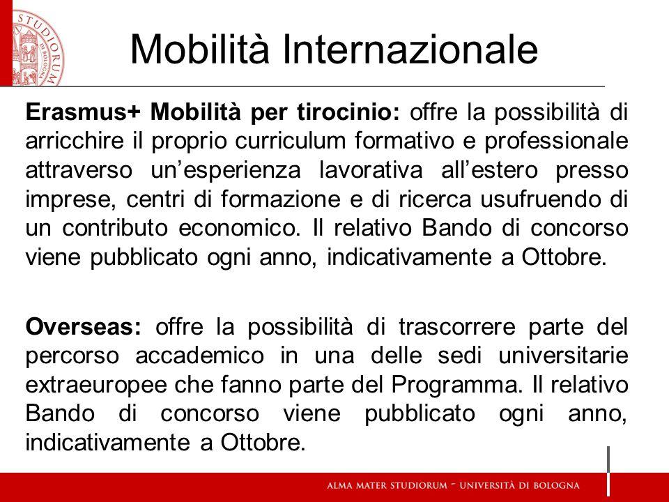 Mobilità Internazionale