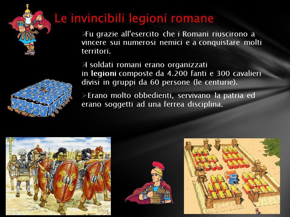 Le invincibili legioni romane