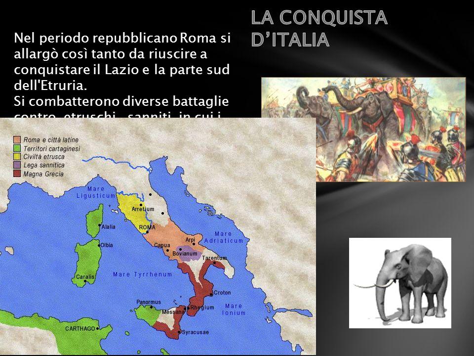LA CONQUISTA D'ITALIA