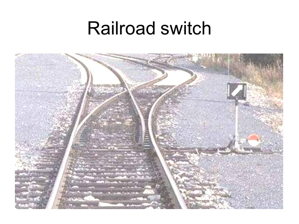 Railroad switch