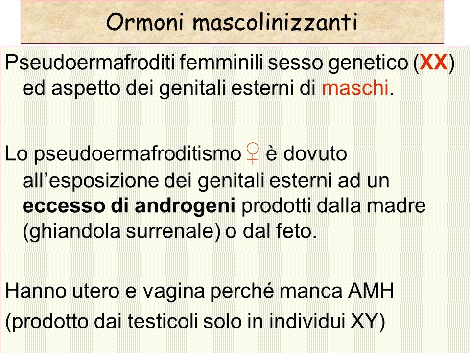 Ormoni mascolinizzanti