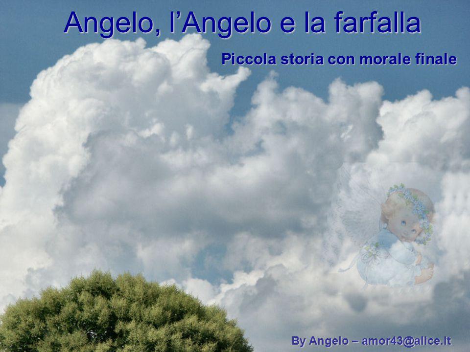 Angelo, l'Angelo e la farfalla