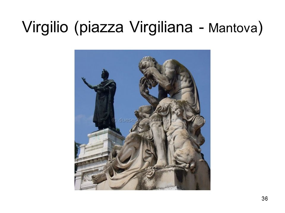 Virgilio (piazza Virgiliana - Mantova)