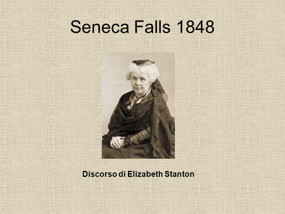 Discorso di Elizabeth Stanton