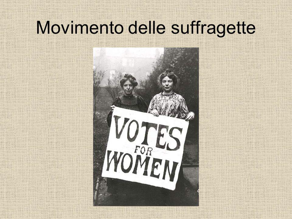 Movimento delle suffragette
