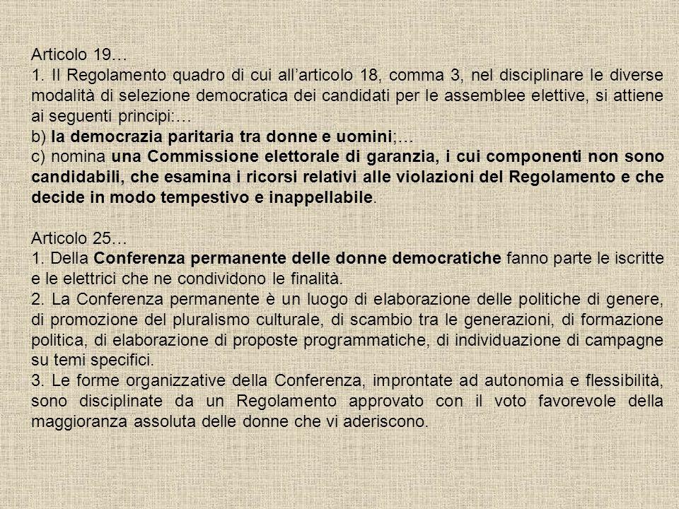 Articolo 19…