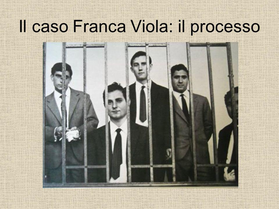 Il caso Franca Viola: il processo